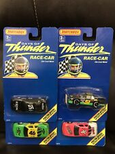 Lot 4 Vintage DAYS OF THUNDER 1/64TH Diecast 1990 MATCHBOX Race Cars NEW!  L@@K