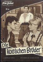 """IFB Illustrierte Film Bühne Nr. 6138 """" Die korsischen Brüder """""""
