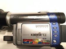 Hitachi DZ-M350A Hand Held DVD Cam 10x Optical 240x Digital Zoom Video Camcorder