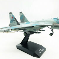 1/100 SU-35 Super Flanker Aircraft Collection Model Rare Gift HBM8002 Blue