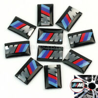 10pcs Self-Adhesive M Tec Sport BADGE STICKER EMBLEM Fits For BMW M3 M5 M6 Wheel
