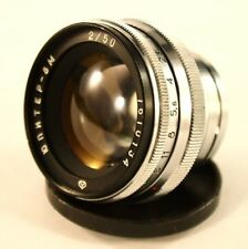 Soviet Lens 50mm  f/2 JUPITER-8M   Mount CONTAX. For KIEV 2, 3, 4. USSR