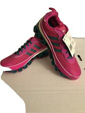 Adidas Originals Microbounce T1 Women's Shock Pink Green EF4886 Shoe Size 10🔥