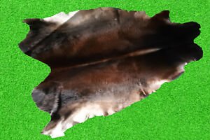"""100% New Cowhide Rugs Area Cow Skin Leather Rugs (45"""" x 43"""") Cow Hide Rug"""