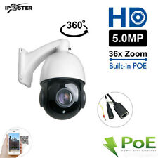 HD 5MP IP Network 36x Zoom PTZ Onvif Waterproof 100m IR CCTV Remote Camera POE