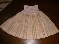AUTHENTIC BURBERRY 18M/86 18 MONTHS DRESS
