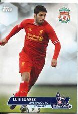 Premier Gold Soccer 13/14 Base Card #45 Luis Suarez