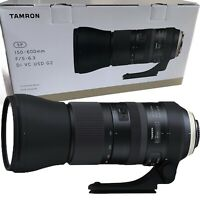 New Tamron SP 150-600mm f/5.0 - 6.3 Di VC USD G2 Lens - Canon EOS Mount (A022)