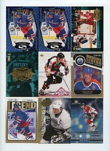 Lot Of (108) Wayne Gretzky Premium Insert Cards Starquest Green Ultra O-Pee-Chee