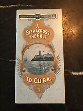 A Step Across The Gulf to Cuba - Plant System - 1899 - Rare