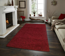 Moon Collection Solid Shaggy Area rugs 2'x3' - 8'x10'