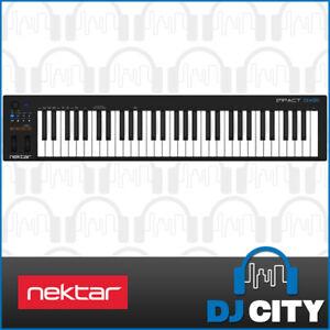 Nektar Impact GX61 USB MIDI Keyboard 61-Key w/ Bitwig 8-Track Software - NEW