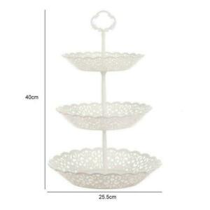 New 3-Tier Cupcake Stand Cake Dessert Wedding Party Plate Round Display A3X5
