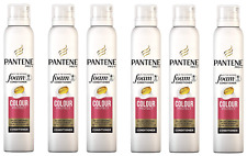 6x Pantene Pro-V  In the Shower Foam Conditioner Colour Protect 180ml
