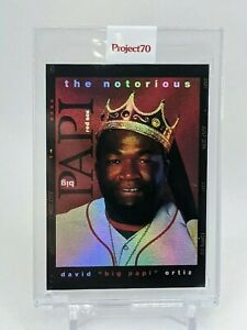 """Topps Project 70 David Ortiz """"Big Papi"""" Rainbow Foil by Don C - Notorious BIG"""