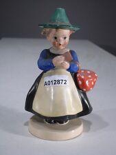 """+# A012872 Goebel Archivmuster FF167 Tiroler Mädchen """"Miazl"""" m. Bündel/Gebetbuch"""