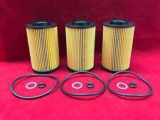 3 Pentius Engine Oil Filters & Gaskets Fits Hyundai Kia 26320-3C250 PCB10515