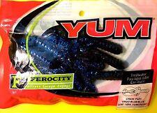 Yum Craw Papi Virgo Blue / Blue Soft Fishing Lures