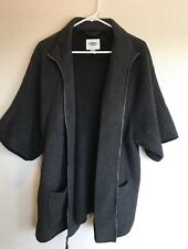 Old Navy Womans Cape Jacket Large 3/4 Sleeve. Wool Blend. Winter Casual