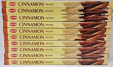 10 Boxes HEM Cinnamon Incense 8 Sticks Per Box 80 Total Sticks Free Shipping