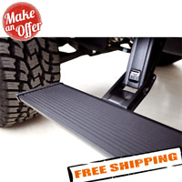 AMP Research 75130-01A Black Power Step Running Board Extension Arm Kit for Ram and Super Duty Trucks