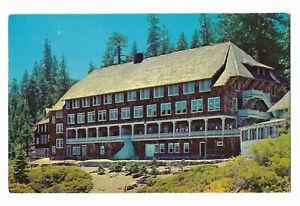 Postcard ~ YOSEMITE NATIONAL PARK, GLACIER POINT HOTEL ~ Postmarked 1965