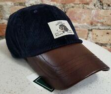 Polo Sportsman English Setter Bird Dog Ralph Lauren Corduroy Leather Hat NWT
