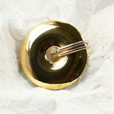 Runde Brosche in 333 Gold