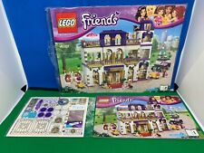 LEGO Friends Heartlake Grand Hotel (41101) Both Mint Guides & BONUS Stickers