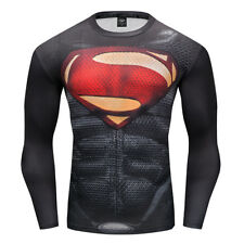 Men's Long Sleeve T-shirt Compression Fitness Clothing Quick Dry Tops Tee
