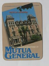 CALENDARIO DE SEGUROS MUTUA GENERAL. AÑO 1986.