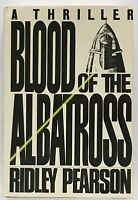 Ridley Pearson: Blood of the Albatross SIGNED FIRST EDITION
