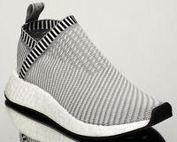 adidas Originals NMD CS2 Primeknit PK men lifestyle sneakers NEW grey BA7187