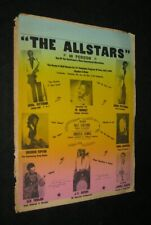 Orignl Colorcraft Jazz & Education Legend Earl Pittman All Stars Stock Poster #2