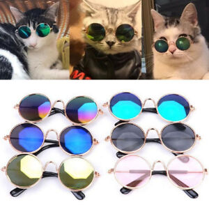 Fashion Glasses for Small Pet Dog Cats Sunglasses Eye-wear Pet Cool Photos Props