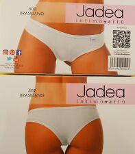 Brasiliano Donna cotone Jadea 502 Bianco-nero 3 Nero