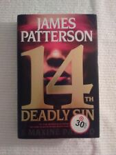 14th Deadly Sin Bk. 14 by James Patterson and Maxine First Edition Box 7