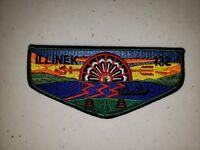 Boy Scout OA Lodge 132 Illinek Vigil Flap No Moon