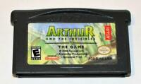 ARTHUR AND THE INVISIBLES NINTENDO GAMEBOY ADVANCE SP GBA GAME