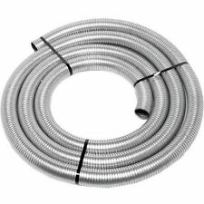 "1"" inch ID x 25 foot feet Long EXHAUST FLEX PIPE Flexible Steel Tubing Tube Auto"