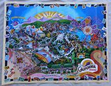 MINT Disney's California Adventure Grand Opening Day Map DCA 2001 Disneyland