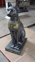 Ägyptische Katze Figur Bastet Wohnen Dekoration Skulptur Groß Si Go 13 Optik