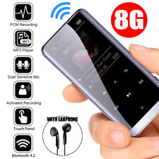 8GB bluetooth MP3/MP4 Music Player Lossless Sound Portable FM Radio Voice 2020