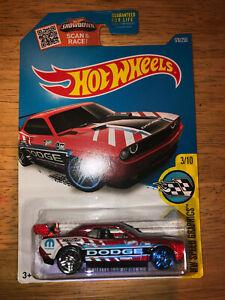 Hot Wheels 2016 Dodge Challenger Drift Car #178 HW Speed Graphics