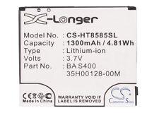 Battery For HTC HD2, Leo 100, T8585, T9193 (p/n 35H00128-00M, BA S400, BB81100)