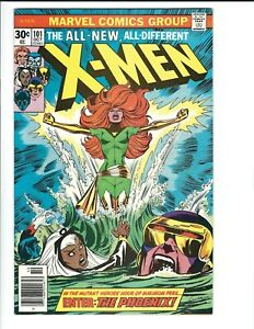 X-men 101 1st Appearance of the Phoenix Solid Mid Grade Fine 1976