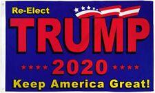 Re-Elect Trump 2020 Keep America Great President 3x5 Feet MAGA Flag Banner