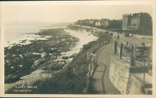 Falmouth; cliff drive; 1946