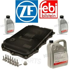 For BMW 8HP Auto Trans Service Kit Oil Pan &Filter Kit Gasket Plugs 7L Fluid ATF