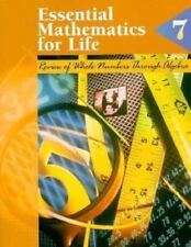 Essential Mathematics for Life: Book 7 : Review of Whole Numbers Through Algebra